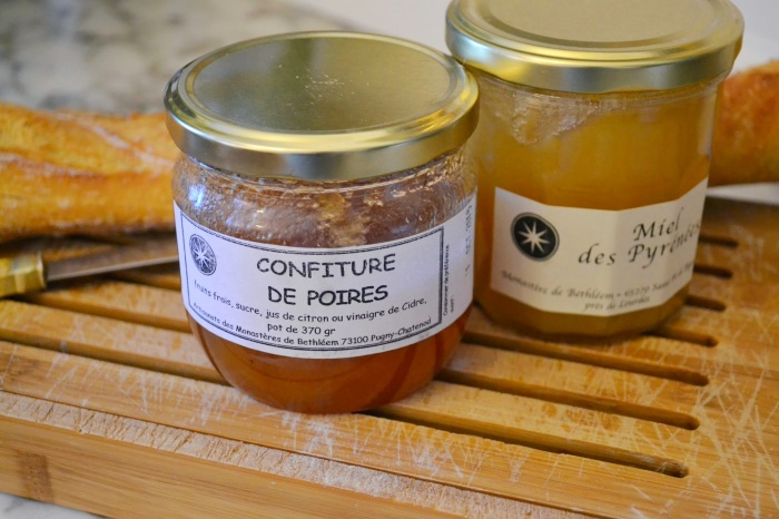 Confiture and honey