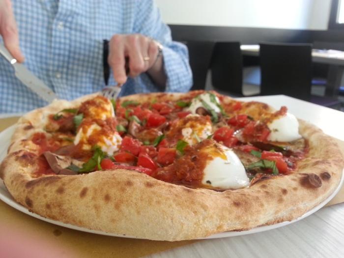 Wish I could go back for some more of this. Pizzeria da Albert Via Bernardino Bomporto 2, Trento, Italy