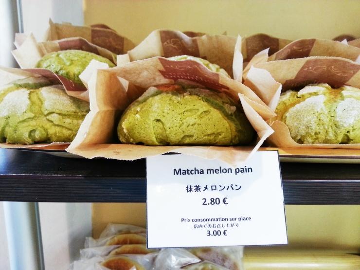 Aki Boulanger - Matcha Melon Pain
