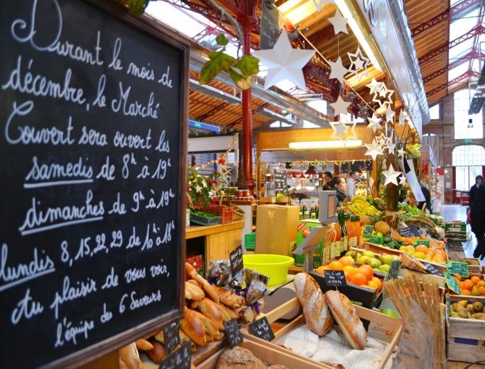 Colmar, France covered market