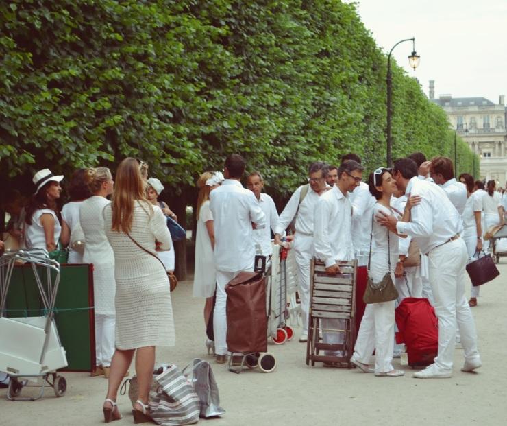 Dîner en blanc à Paris