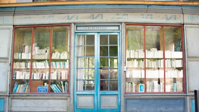 A cute window front near Parc de Sceaux, Paris, France